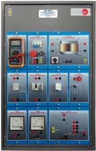 SINGLE-PHASE INSTALLATIONS FAULTS APPLICATION - AEL-AD33