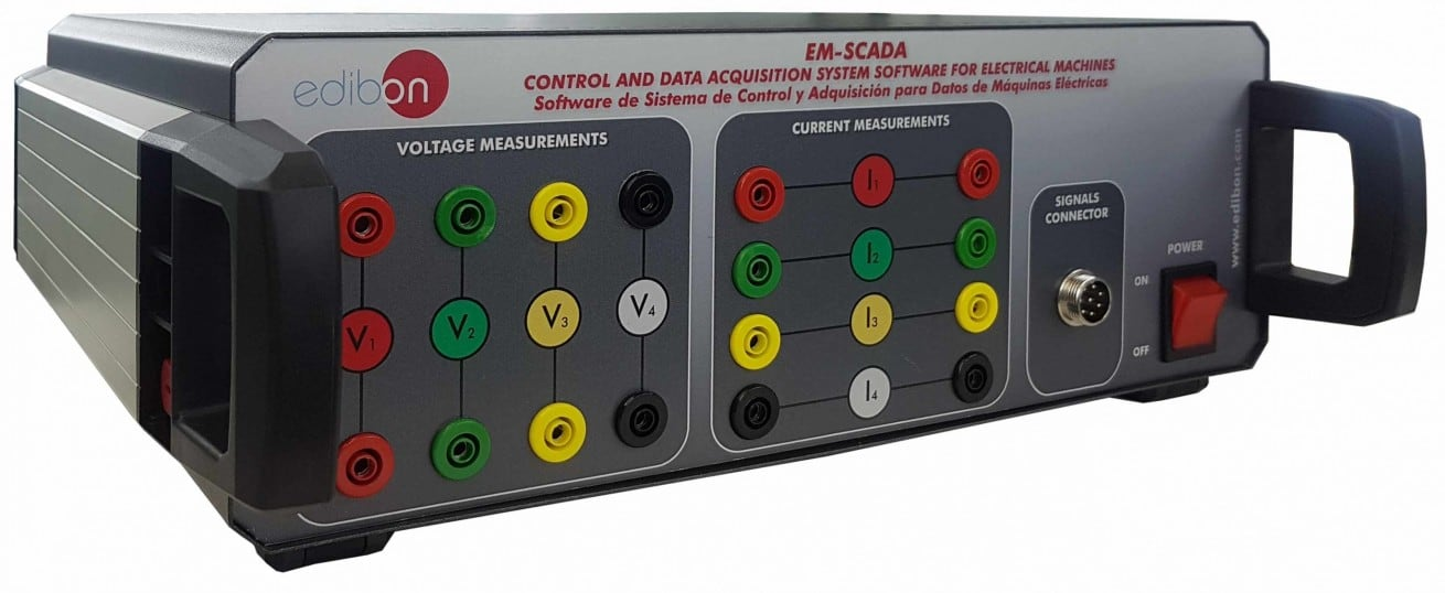 CONTROL AND DATA ACQUISITION SYSTEM SOFTWARE FOR ELECTRICAL MACHINES - EM-SCADA