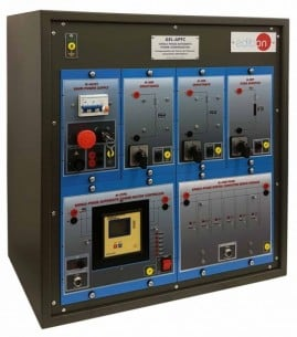 SINGLE-PHASE AUTOMATIC POWER FACTOR COMPENSATION APPLICATION - AEL-APFC