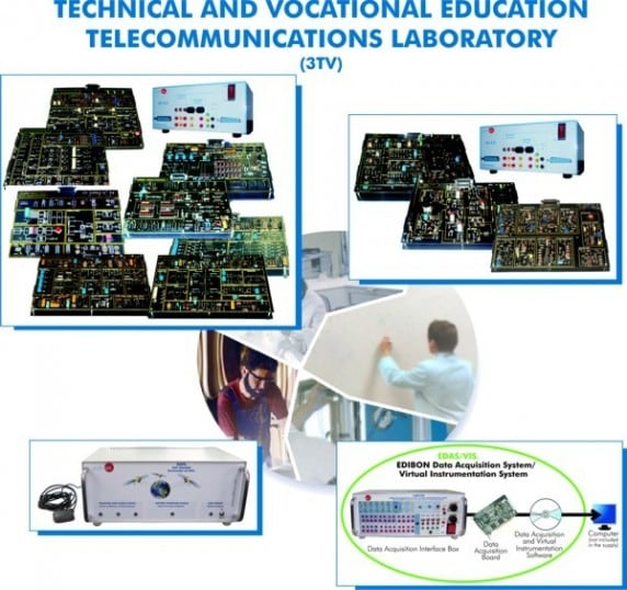 TECHNICAL AND VOCATIONAL EDUCATION TELECOMMUNICATIONS LABORATORY - 3TV