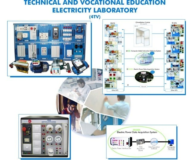 TECHNICAL AND VOCATIONAL EDUCATION ELECTRICITY LABORATORY - 4TV