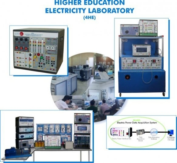 HIGHER EDUCATION ELECTRICITY LABORATORY - 4HE