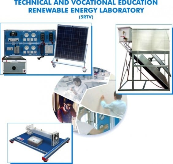 TECHNICAL AND VOCATIONAL EDUCATION RENEWABLE ENERGY  LABORATORY - 5RTV