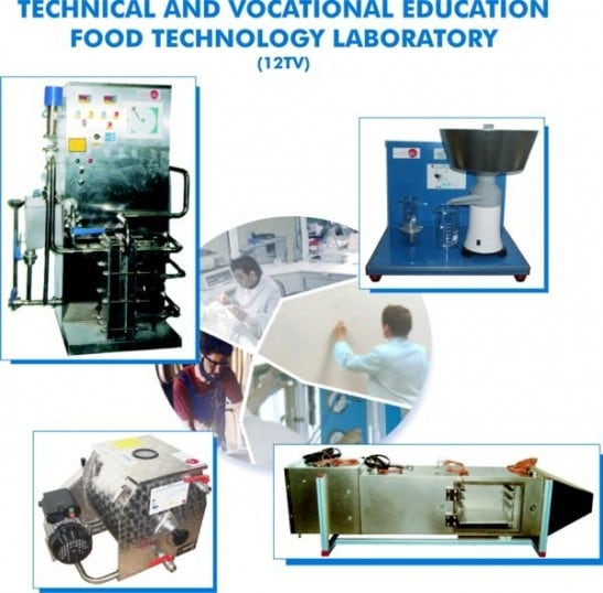 TECHNICAL AND VOCATIONAL EDUCATION FOOD TECHNOLOGY LABORATORY - 12TV
