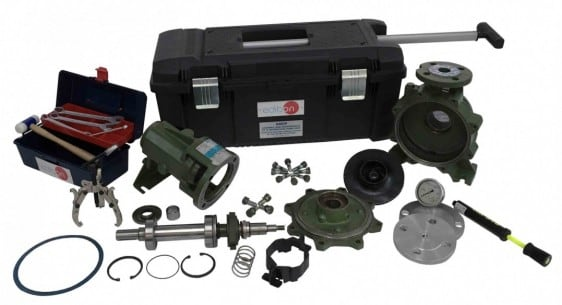 ASSEMBLY AND MAINTENANCE OF A CENTRIFUGAL PUMP UNIT - AMCP