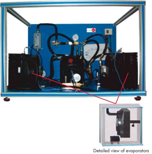 COMPUTER CONTROLLED DOUBLE CHAMBER REFRIGERATOR MODULE - THARA2C/2