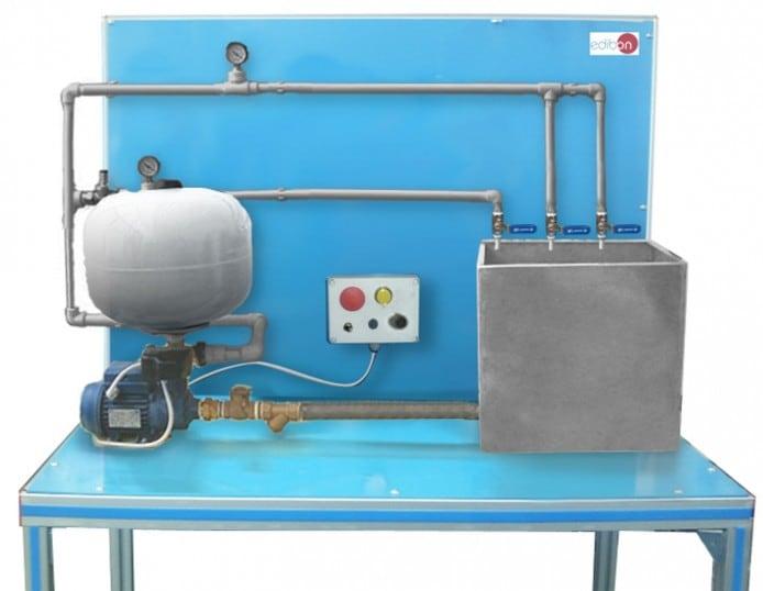 WATER SUPPLY THROUGH AIR PRESSURE UNIT - HSMAP