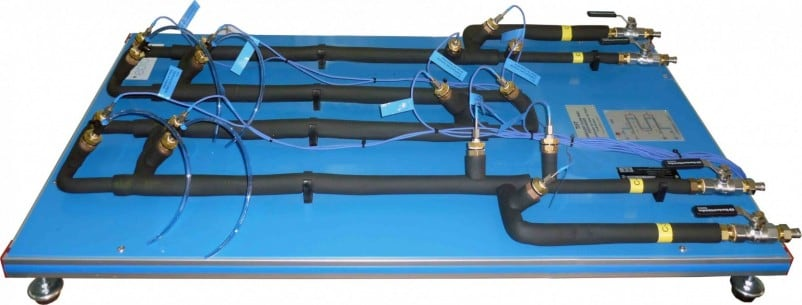 TURBULENT FLOW HEAT EXCHANGER FOR TICC - TIFT