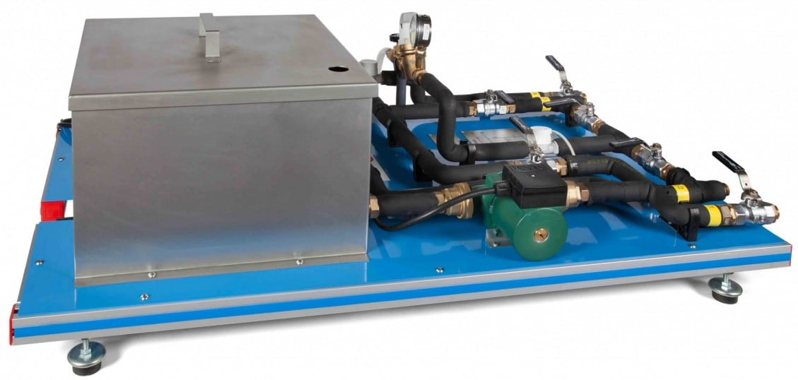 """BASE SERVICE UNIT (COMMON FOR ALL AVAILABLE HEAT EXCHANGERS TYPE """"TI"""") - TIUS"""