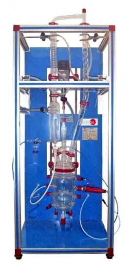ISOTHERMAL REACTOR WITH STIRRER AND DISTILLATION - QRIA/D