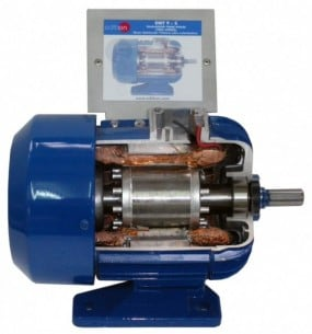 CUTAWAY DAHLANDER MOTOR, 2 SPEEDS - EMT9-S