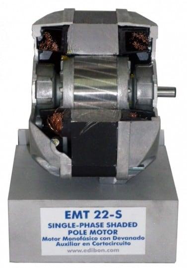 CUTAWAY 1PH SHADED POLE MOTOR - EMT22-S