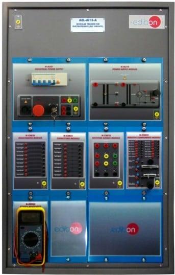ELECTROTECHNICS APPLICATION (RLC CIRCUITS) - AEL-AI13-A