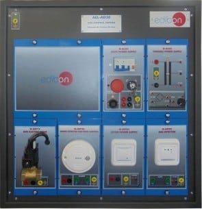 GAS AND SMOKE DETECTION APPLICATION - AEL-AD30