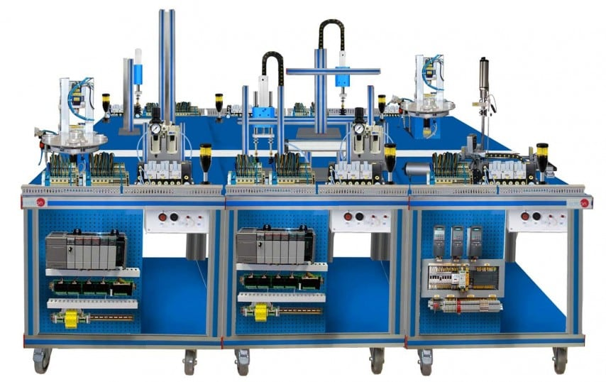 FLEXIBLE MANUFACTURING SYSTEM  2 - AE-PLC-FMS2