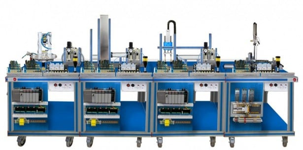 FLEXIBLE MANUFACTURING SYSTEM  3 - AE-PLC-FMS3