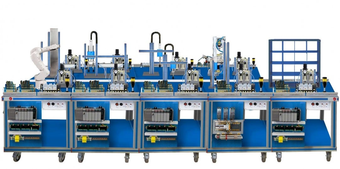FLEXIBLE MANUFACTURING SYSTEM  5 - AE-PLC-FMS5