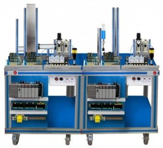 FLEXIBLE MANUFACTURING SYSTEM  6 - AE-PLC-FMS6
