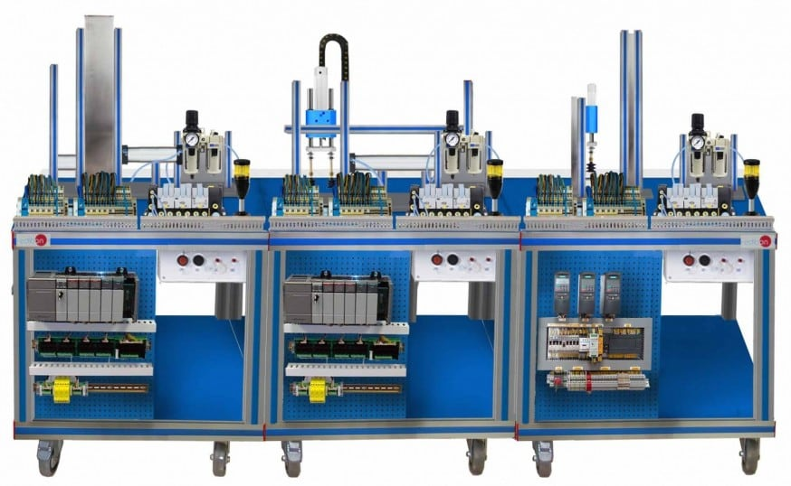 FLEXIBLE MANUFACTURING SYSTEM  7 - AE-PLC-FMS7
