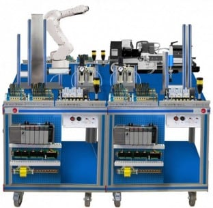 FLEXIBLE MANUFACTURING SYSTEM  9 - AE-PLC-FMS9
