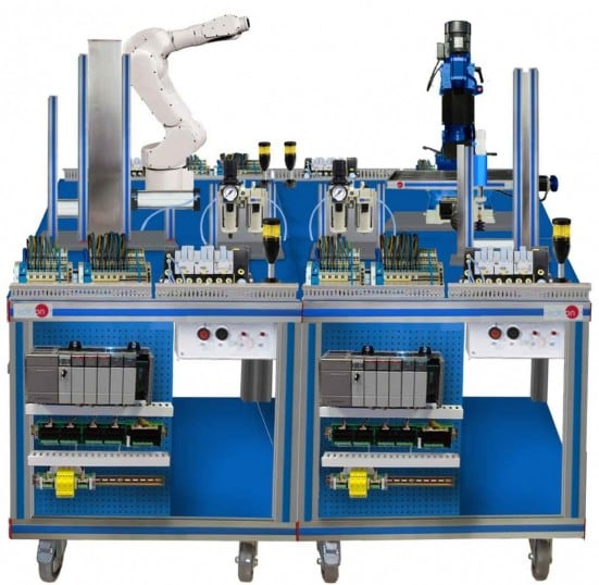 FLEXIBLE MANUFACTURING SYSTEM  10 - AE-PLC-FMS10