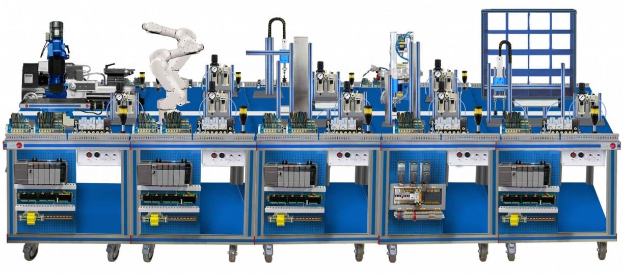 FLEXIBLE MANUFACTURING SYSTEM  11 - AE-PLC-FMS11