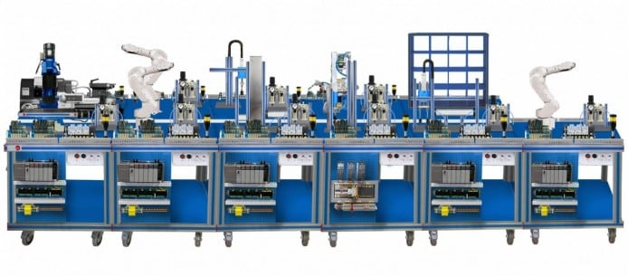 FLEXIBLE MANUFACTURING SYSTEM  12 - AE-PLC-FMS12