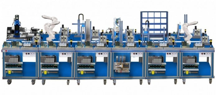 FLEXIBLE MANUFACTURING SYSTEM  13 - AE-PLC-FMS13