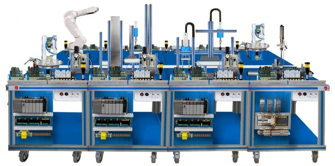 FLEXIBLE MANUFACTURING SYSTEM  1 - AE-PLC-FMS1