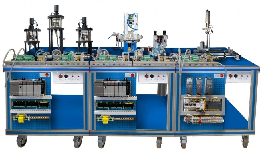 FLEXIBLE MANUFACTURING SYSTEM 14 - AE-PLC-FMS14