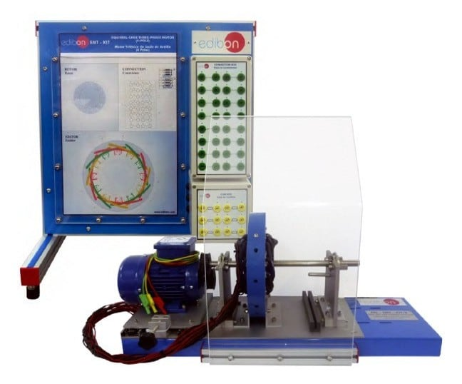 ADVANCED DISSECTIBLE AND CONFIGURABLE ELECTRICAL MACHINES - AEL-EMT-KIT