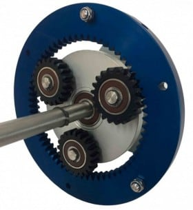 UNIT TO STUDY A PLANETARY GEAR CUTAWAY MODEL - PGCM