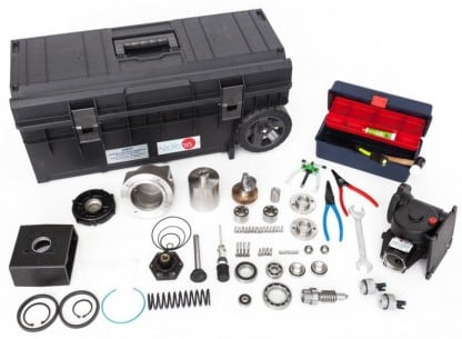 ASSEMBLY AND MAINTENANCE OF A PISTON PUMP UNIT - AMPP