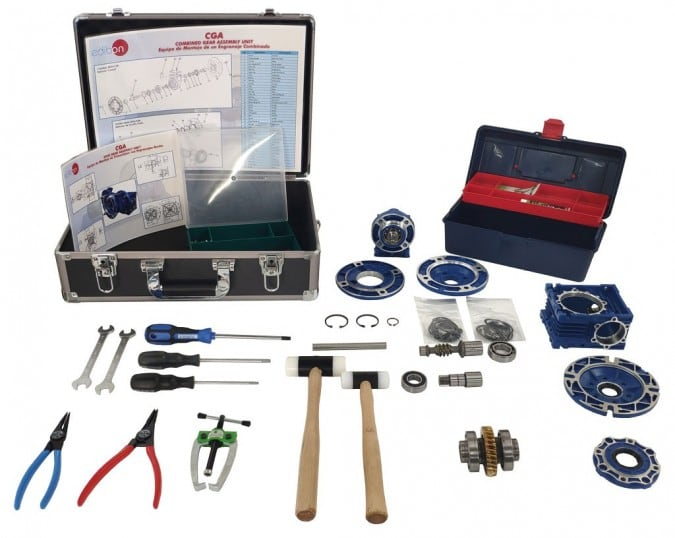 COMBINED GEAR ASSEMBLY UNIT - CGA