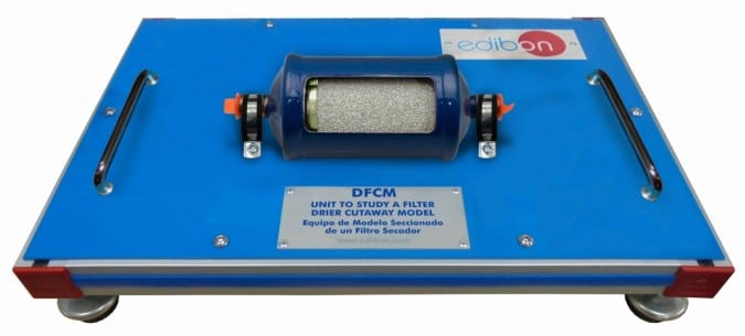 UNIT TO STUDY A FILTER DRIER  CUTAWAY MODEL - DFCM