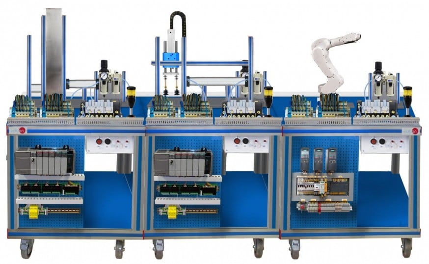 FLEXIBLE MANUFACTURING SYSTEM 15 - AE-PLC-FMS15