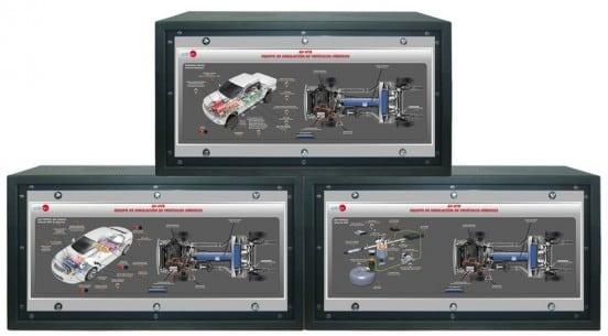 COMPUTER CONTROLLED AUTOMOTIVE HYBRID SIMULATION UNIT - AV-HYB