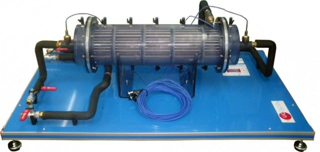 SHELL & TUBE HEAT EXCHANGER FOR TICC - TICT