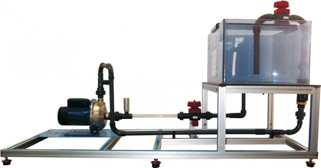 COMPUTER CONTROLLED CENTRIFUGAL PUMP BENCH - PBCC