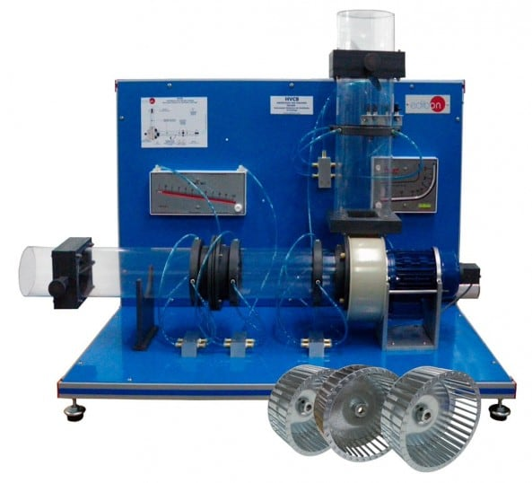 CENTRIFUGAL FAN TEACHING UNIT - HVCB