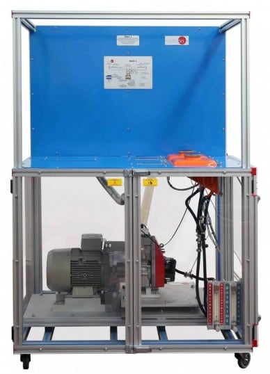 COMPUTER CONTROLLED TEST BENCH FOR SINGLE-CYLINDER ENGINES, 2.2 KW - TBMC3