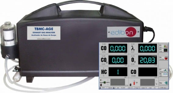 EXHAUST GAS ANALYZER - TBMC-AGE