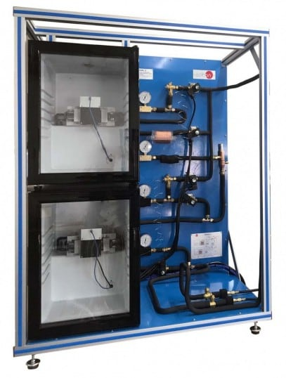 REFRIGERATION SYSTEM WITH REFRIGERATION AND FREEZING STAGE MODEL - TRAMC/2