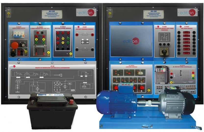 AUTOMOTIVE ELECTRIC GENERATION UNIT - AV-GE