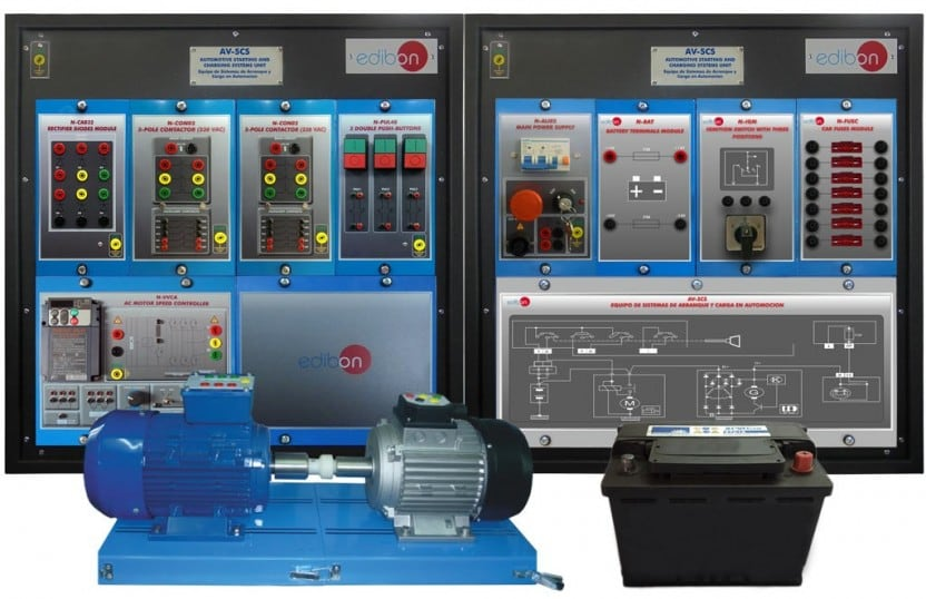 AUTOMOTIVE STARTING AND CHARGING SYSTEMS UNIT - AV-SCS