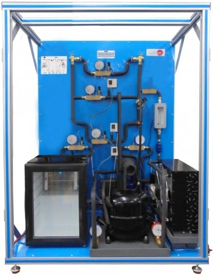 COMPUTER CONTROLLED TWO-STAGE COMPRESSION REFRIGERATION UNIT - TSCC