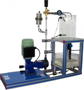 COMPUTER CONTROLLED PISTON PUMP BENCH - PBRC