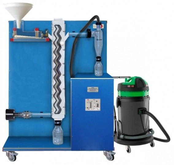 COMPUTER CONTROLLED GAS FLOW CLASSIFICATION UNIT - PSNC