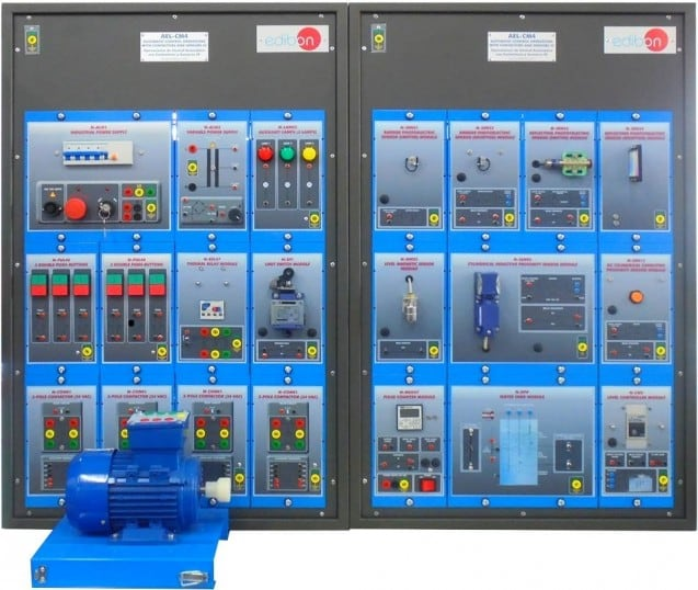 AUTOMATIC CONTROL OPERATIONS WITH CONTACTORS AND SENSORS IV APPLICATION - AEL-CM4