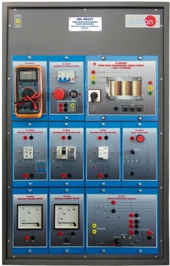 THREE-PHASE INSTALLATIONS FAULTS APPLICATION - AEL-AD33T